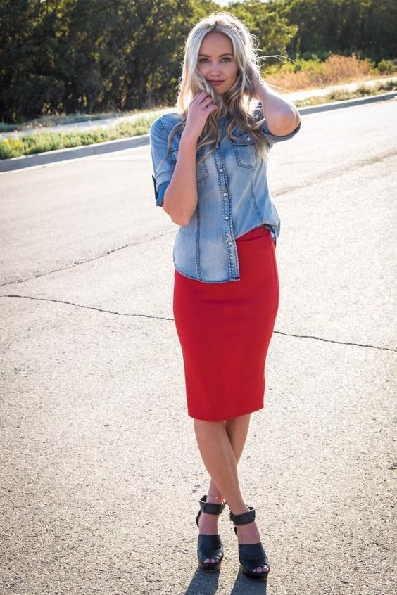 solid colored pencil skirts sexymodest boutique