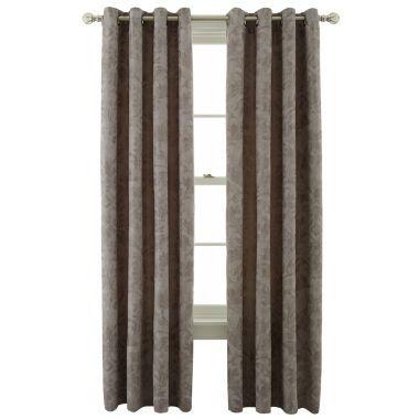 Royal Velvet® Sentinel Grommet-Top Curtain Panel  found at @JCPenney
