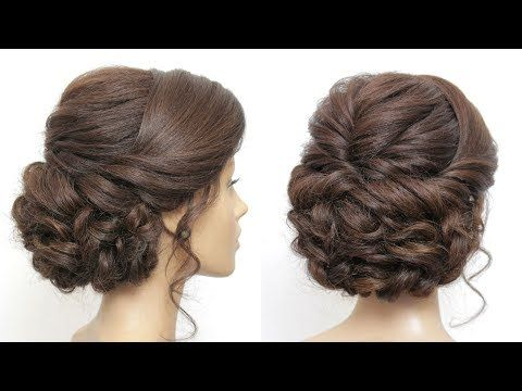 Wedding Prom Updo Tutorial Formal Hairstyles For Long Hair Youtube Formal Hairstyles For Long Hair Long Hair Updo Hair Updos Tutorials