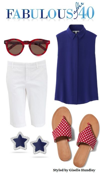Casual dressing for the 4th of July | Fabulous After 40: