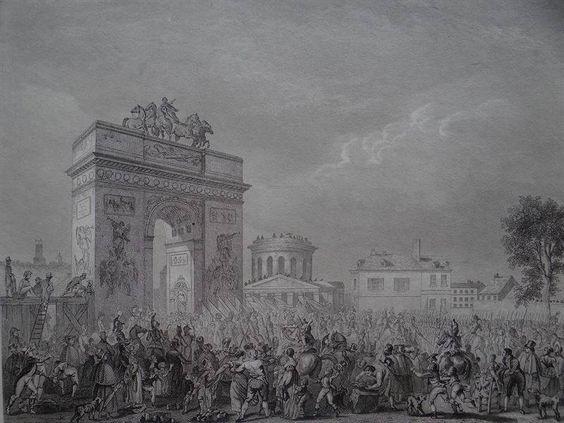 Entree de la garde imperiale á Paris pres la Campagne de Prusse (25. Novembre 1807)