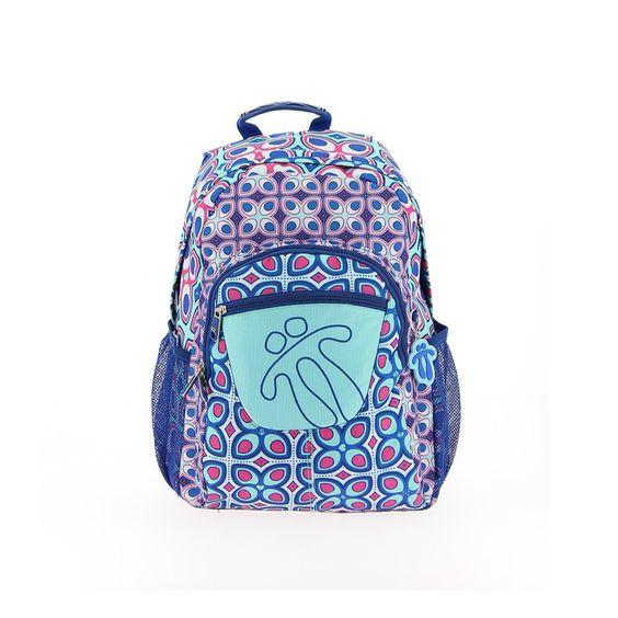 Mochila modelo 7bj de la marca totto adaptable, una mochila escolar de gran calidad,