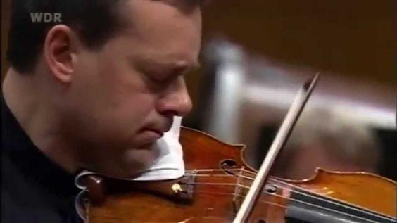 Frank Peter Zimmermann - Schumann Violin Concerto - Jukka Pekka Saraste ...