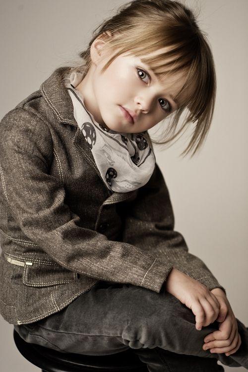 Kristina Pimenova, the most gorgeous child model.