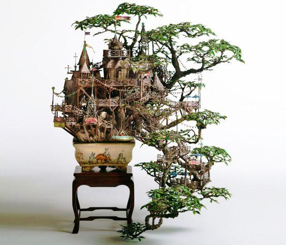 Takanori Aiba bonsai tree castle