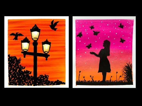 diy canvas art painting poster