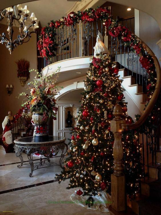 Sophisticated Christmas Decorations 2020 Lovely Christmas Tree Decoration Ideas #xmastree #christmastree in