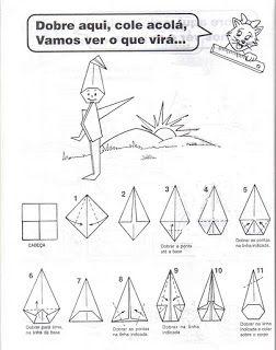 ESPAÇO EDUCAR: A Lenda do Saci 2 Origami