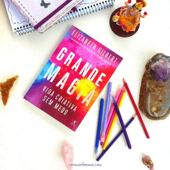 Clube do Livro - Grande Magia #CortedeLeitoreseLivros #CLL #ElizabethGilbert