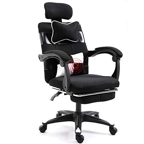 Eahkgmh Ergonomic Office Chair High Back Recliner Desk Chair With Lumbar Support Height Adjustable Seat He With Images Ergonomic Office Chair Ergonomic Office Office Chair