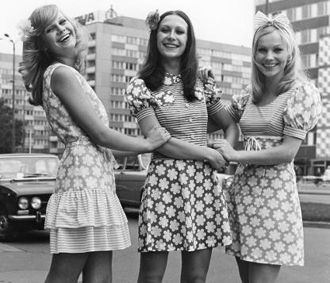East German girls