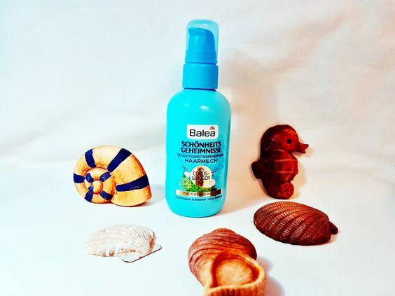 Balea Schönheitsgeheimnisse Haarmilch Cocos Wasser