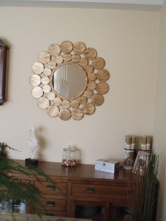 Consejos decoracion espejos decorar tu casa es for Espejos circulares decorativos
