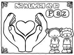 Dia De La Paz Galeria De Dibujos Y Carteles Ninos Del Mundo Para Colorear Orientacion Andujar Dibujos De La Paz Dia De La Paz Dia Internacional De La Paz