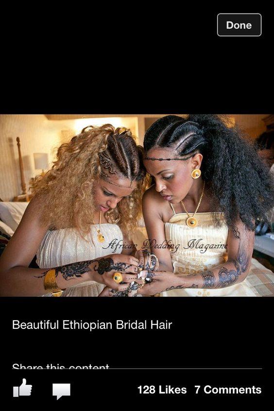 Ethiopian Hair Ethiopian Wedding Wedding Hairdos Hairdos Hair Style