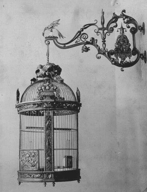 Birdcage of yesteryear.