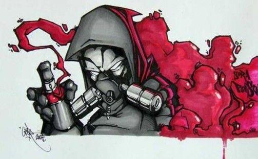 Graffiti Characters Graffiti Slaps Blackbook Sketch Book Spraycans ...