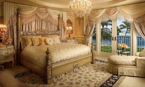 Cómo diseñar una habitación de hotel - ideen fur gardinen luxurioses interieur design