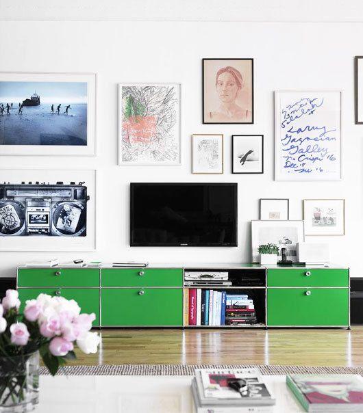 Framed gallery in Living Room