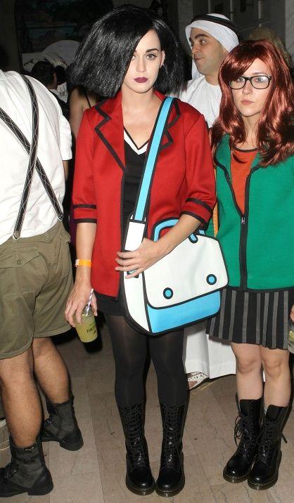 Precisa de inspiração para o Halloween? Katy Perry te ajuda - Lembram na Daria?