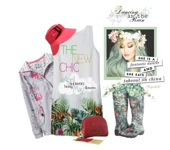 """Spring Showers"" by ragnh-mjos ❤ liked on Polyvore featuring Joules and Kamik"