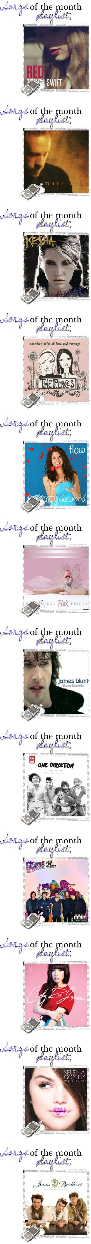 """& - my febuɑry plɑylist of the month. ♥"" by sellysnumber1fan ❤ liked on Polyvore"