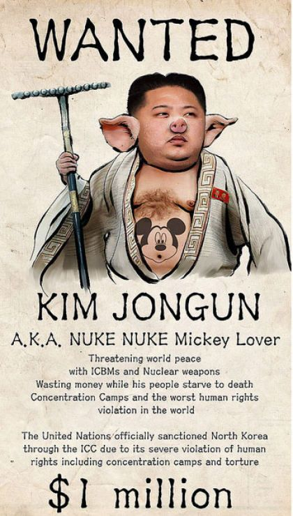 Anonymous nimmt Nordkorea ins Visier: Kim Jong Oink wenns nicht so traurig wär...