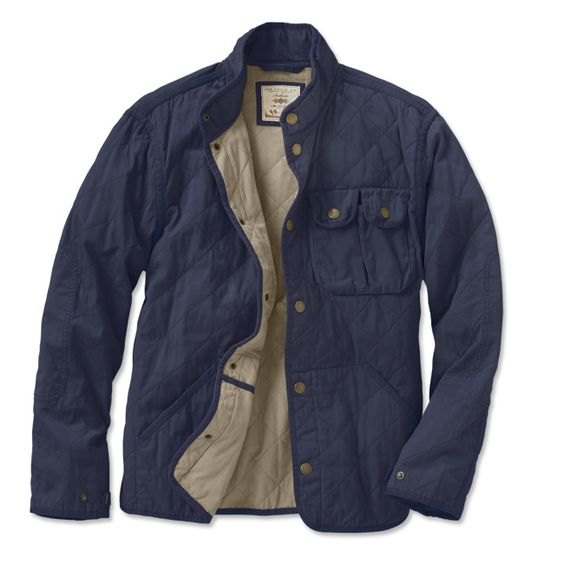 Lightweight Work Jacket / Quilted Work Jacket -- Orvis | Quilted ...