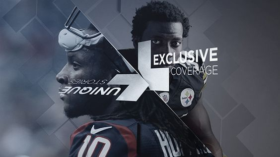 NFL Network Promo by Omer Avarkan, via Behance. Sports graphics and motion design styleframes