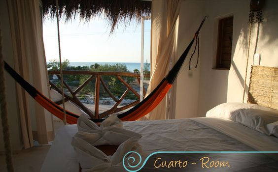 Isla Holbox for swimming with whale sharks...the hammock is strung up and waiting for us!