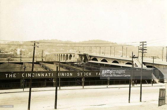 Union Stock Yard Comp. & Hopple St. Viaduct ..early 20th century..