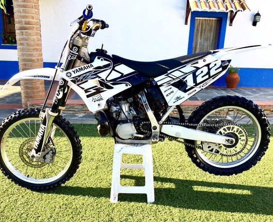 Dlrmotosgraphics Yz250 Yamaha 2stroke Honda Dirt Bike Dirtbikes Cool Dirt Bikes