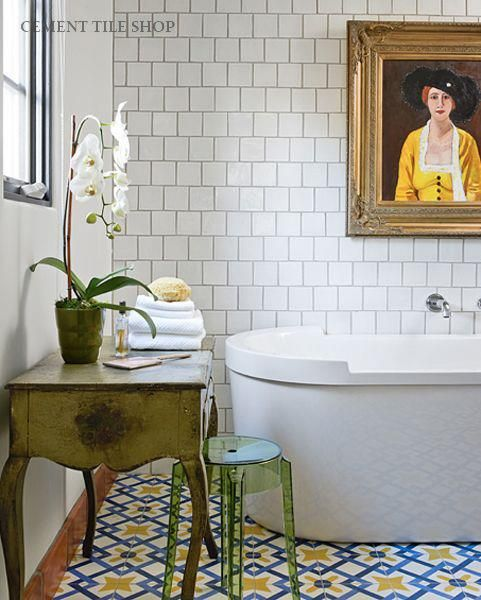 10 Beautiful Examples of Patterned Tiles /// By Design Fixation