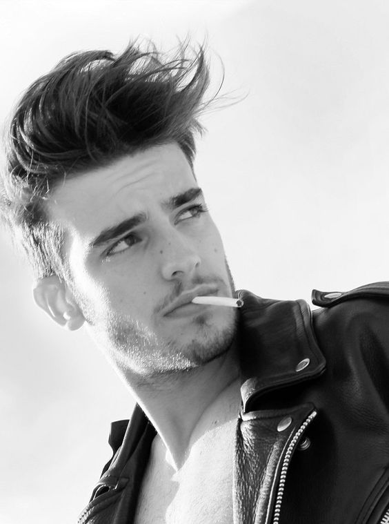 Swell Hair Haircuts And A Single Man On Pinterest Hairstyles For Men Maxibearus