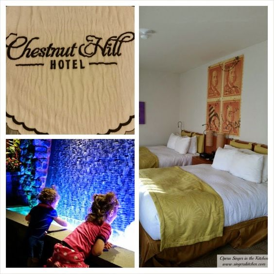 Opera Singer in the Kitchen: Family-Friendly Stay at the Chestnut Hill Hotel {Review}