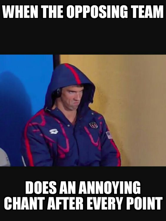 Volleyball probs #PhelpsFace