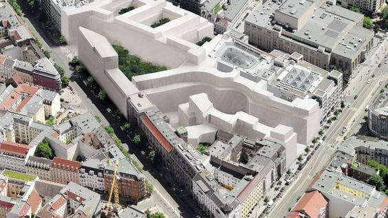 Für die berühmte Ruine ist endlich wieder eine Zukunft in Sichtweite. Ein Schweizer Architekturbüro plant Hotels, Wohnungen und Läden.