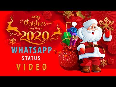 Merry Christmas Dec 25 New Year 2020 Greetings Wish Whatsapp Status Video Youtube Merry Christmas New Year 2020 Merry