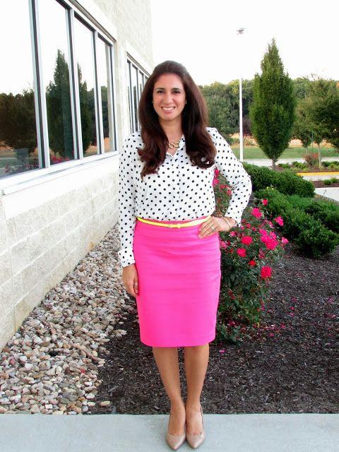 Polka Dots &amp- Hot Pink (Dayi&-39-s Sense of Style) - Pinterest - Hot ...