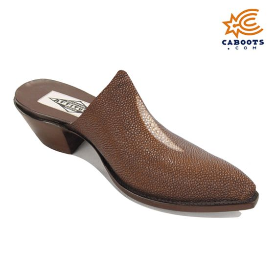 Stingray Mules, $600, Mules, Genuine Stingray Construction, Available in 14 Different Colors