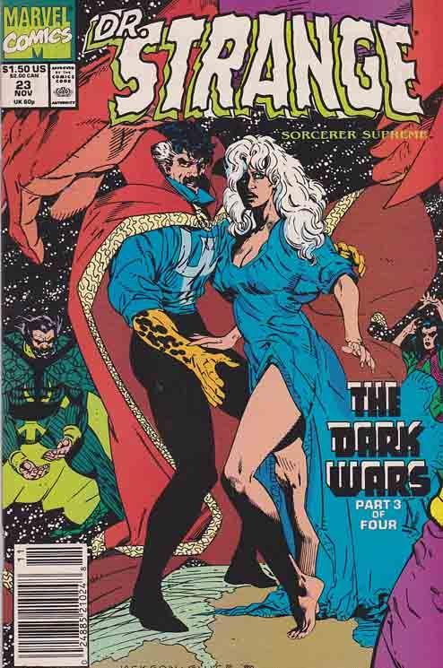 Doctor Strange #26 FN 1991 Stock Image