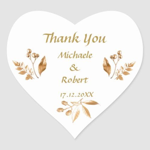 Personalised Gold and White Birthday Stickers Baby Shower Wedding Stickers