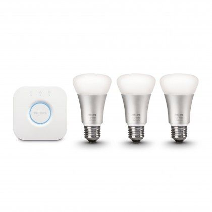 Philips Hue A60 E27 LED-Lampe 10W 3er Starterset 1