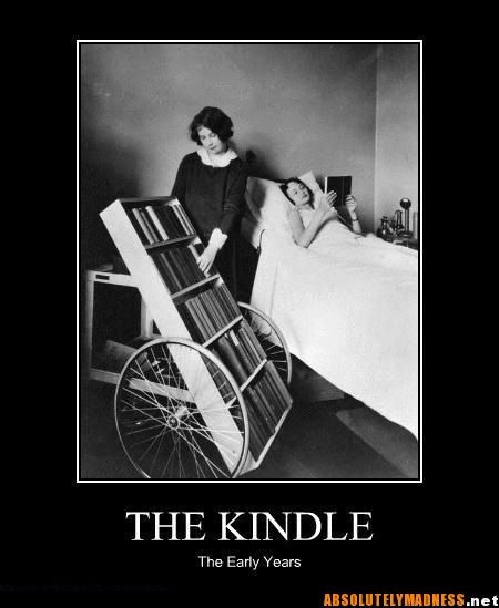KINDLE - the early years #bookhumor