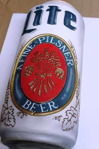 Miller Lite Can Cake by Alliance Bakery, via Flickr