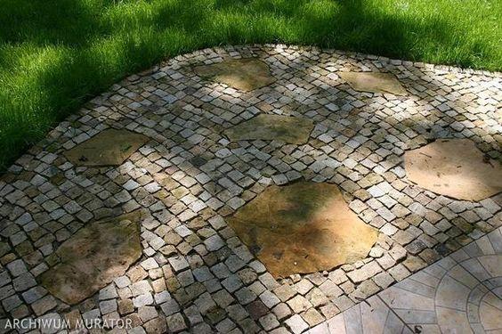 Nawierzchnia w ogrodzie: jak wykorzystać resztki kamienia? - - wymarzonyogrod.pl