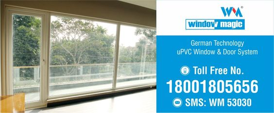Give your room an additional beauty factor with Window Magic well-crafted designer #uPVC windows and #doors.