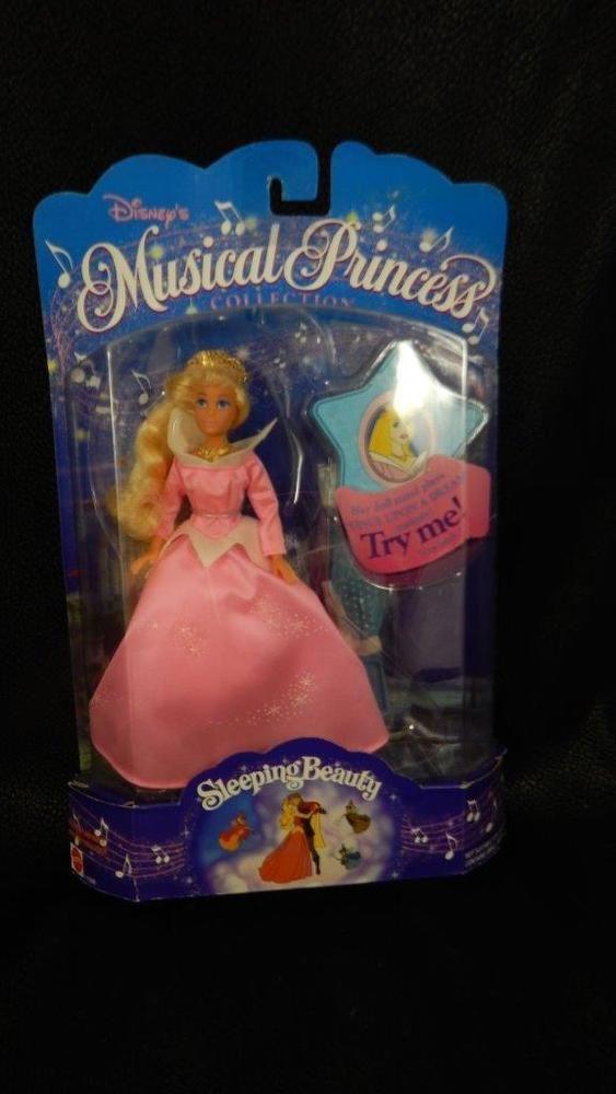 1994 Mattel Disney Musical Princess Sleeping Beauty 11598 Doll NRFP #Mattel