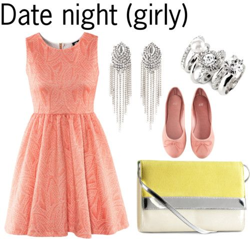Date night outfit for girly girl   Style   Pinterest   Girls Night and Outfit