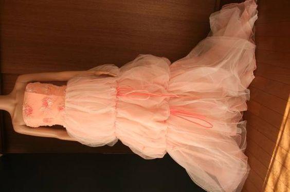 #3ピンク 桃 ウエディングドレス9T ハンガ、カバ付 - ヤフオク!